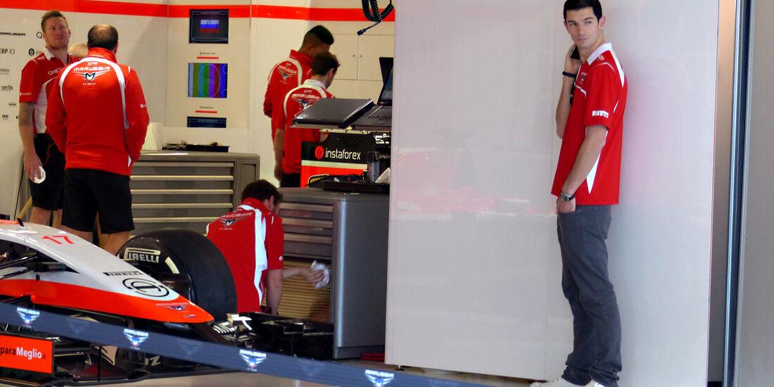 Alexander Rossi - Marussia - Formel 1 - GP Russland - 10. Oktober 2014