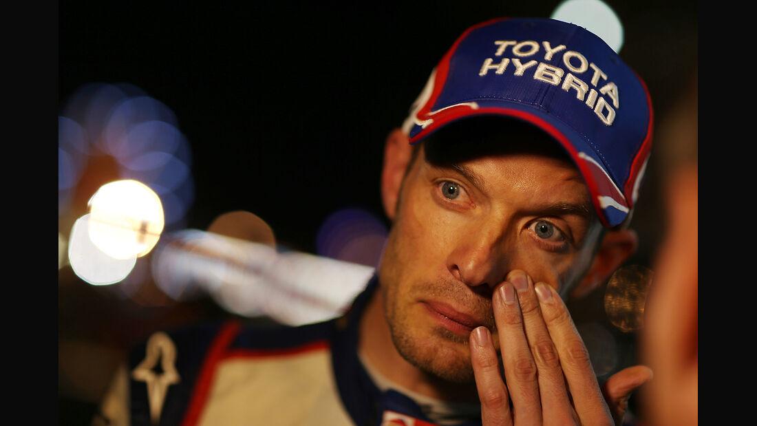 Alexander Wurz - 24h-Rennen - Le Mans 2014 - Toyota