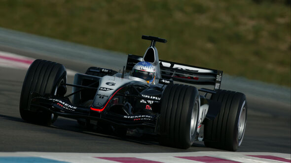 Alexander Wurz - McLaren-Mercedes MP4-18 - Paul Ricard - Testfahrten 2003