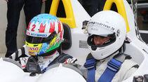 Alexander Wurz - Rafael Nadal - 24h-Rennen Le Mans 2018 - Samstag - 16.6.2018