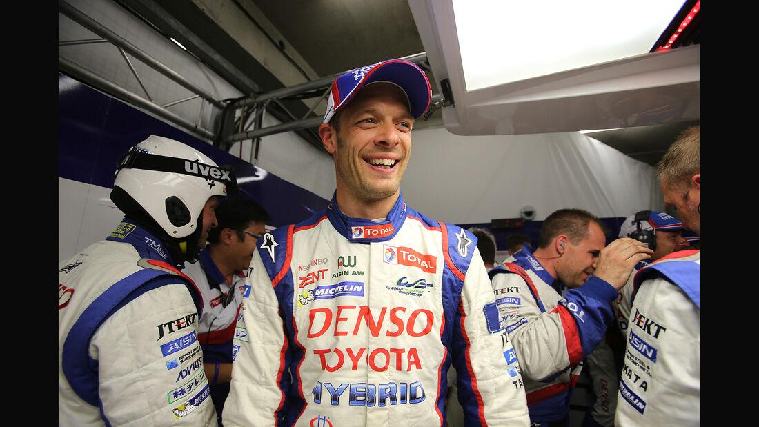 Alexander Wurz - Toyota - 24h-Rennen - Le Mans 2014