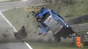 Alexandre Premat DTM-Crash