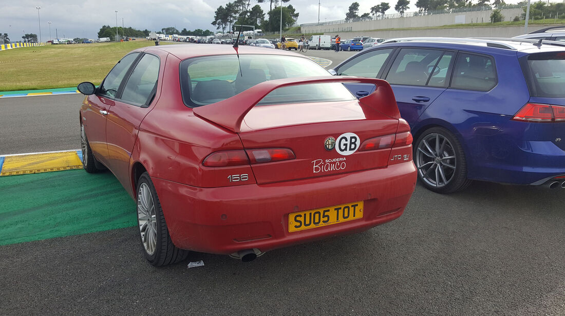 Alfa 156 - Carspotting - 24h-Rennen Le Mans 2016