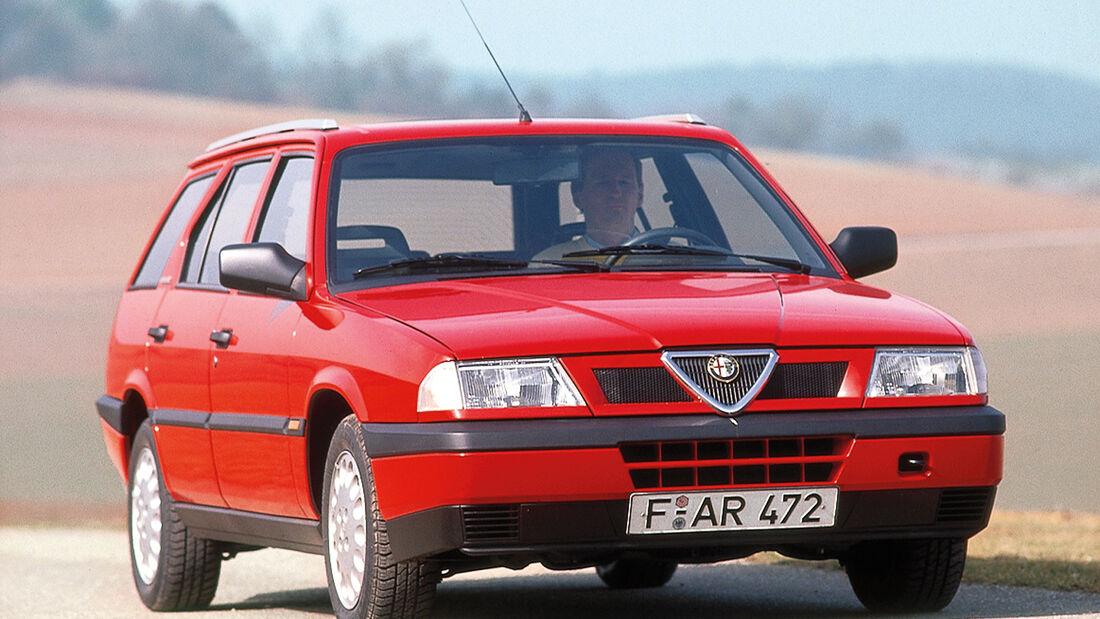 Alfa 33 16V, Frontansicht
