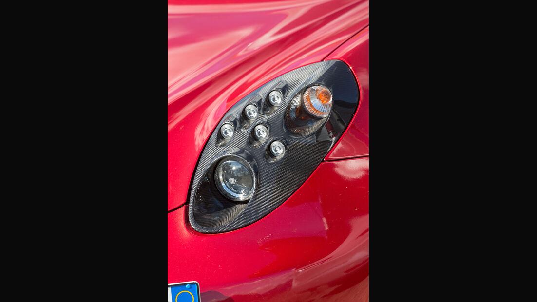 Alfa 4C, Frontscheinwerfer