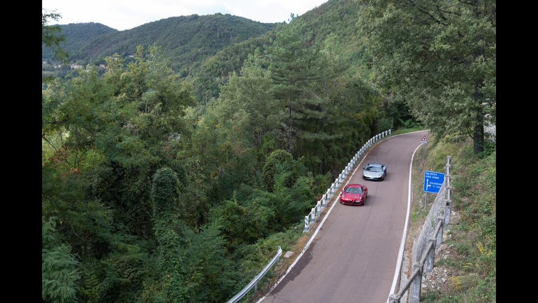 Alfa 4C, Lamborghini Aventador LP750  SV, Impression