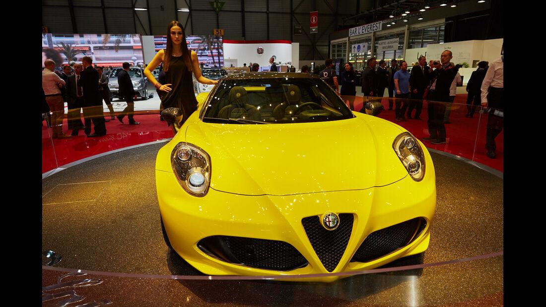 Alfa 4C Spider - Genfer Autosalon 2015