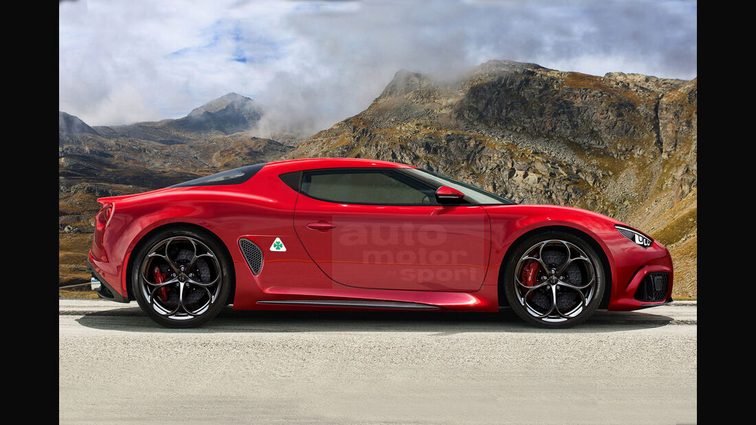 Wonderbaarlijk Neuer Alfa 8C (2021): Bilder, technische Daten, Marktstart - auto QE-82
