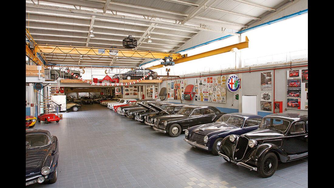 Alfa Blue Team Garage