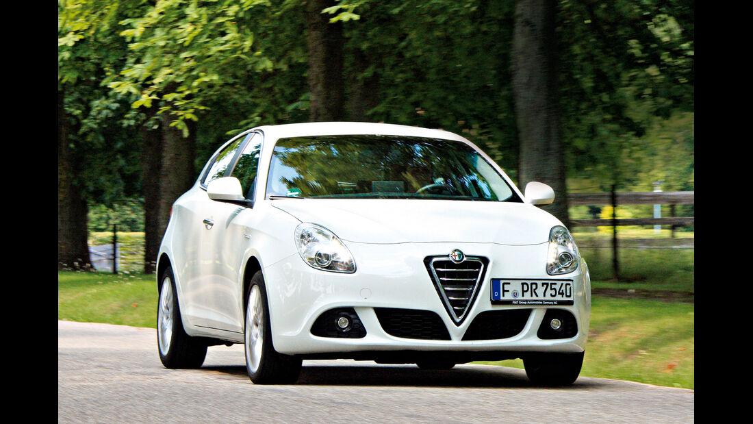 Alfa Giulietta 2.0 JTDM TCT, Frontansicht