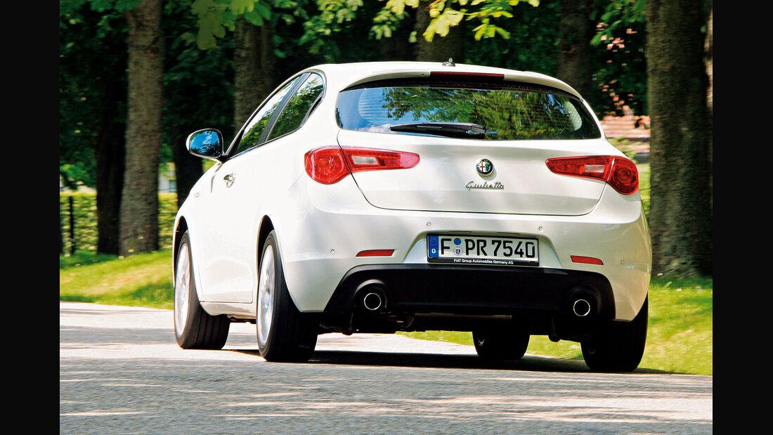 Alfa Giulietta 2.0 JTDM TCT, Heckansicht