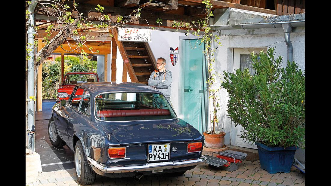 Alfa Roemeo 1300 GT Junior, Heckansicht