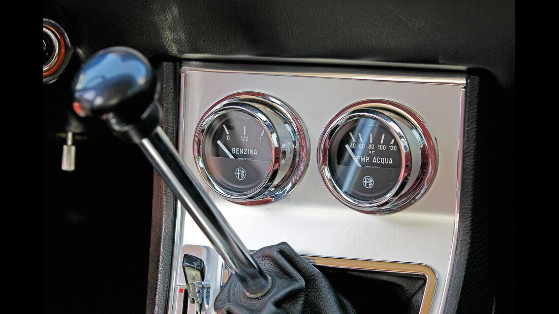 Alfa Roemeo 1300 GT Junior, Schalthebel