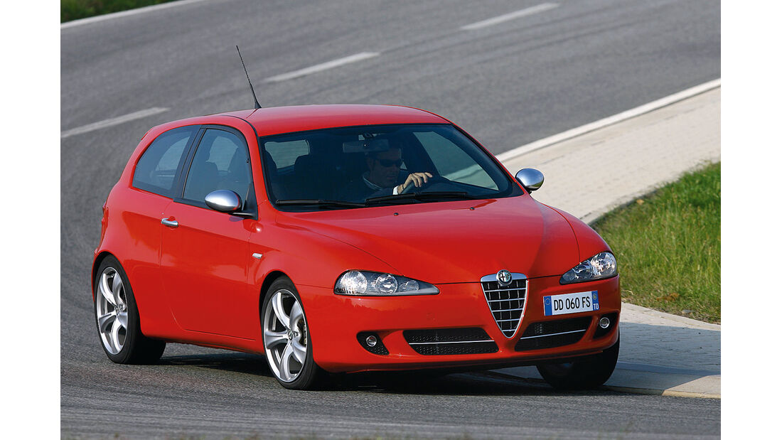 Alfa Romeo 147 1.6 TS, Frontansicht