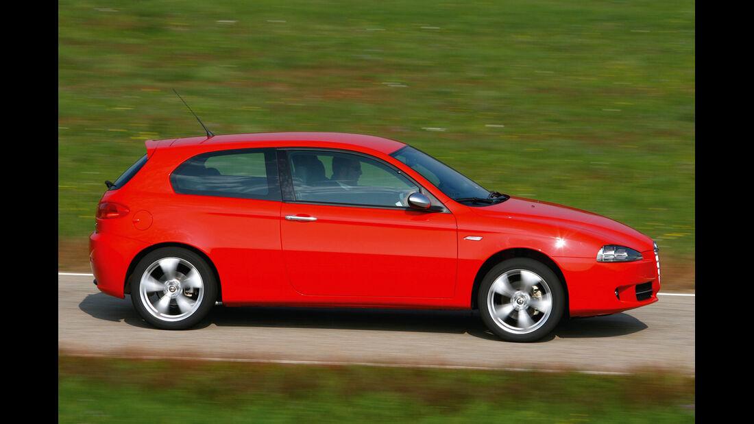 Alfa Romeo 147 1.6 TS, Seitenansicht