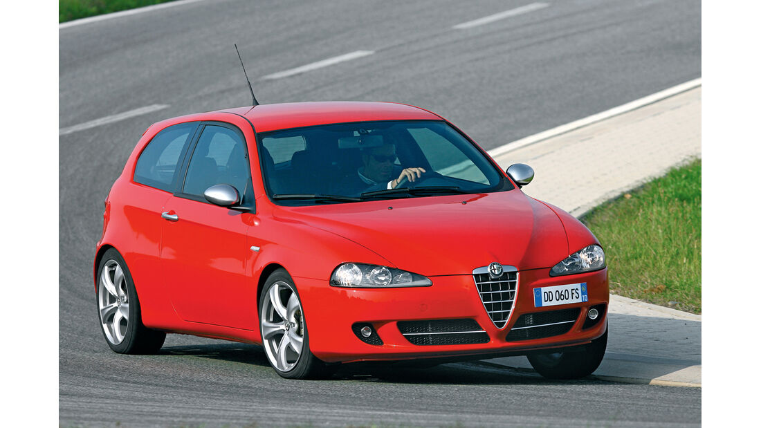 Alfa Romeo 147, Frontansicht