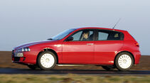 Alfa Romeo 147, Seitenansicht