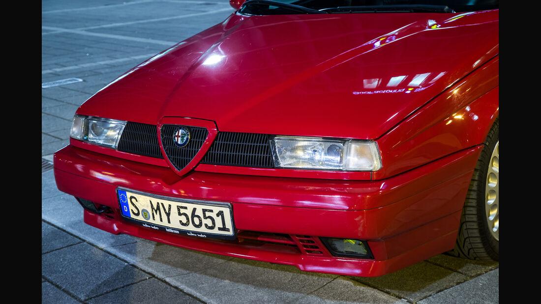 Alfa Romeo 155 2.0 Twin Spark, Front, Kühlergrill