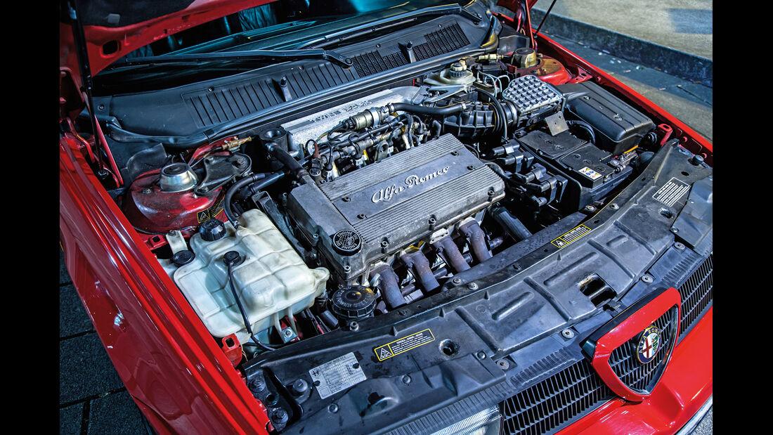 Alfa Romeo 155 2.0 Twin Spark, Motor