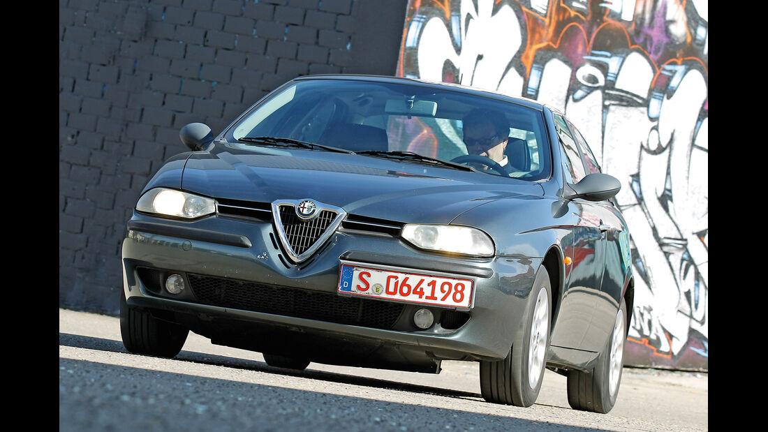 Alfa Romeo 156 1.8 TS, Frontansicht