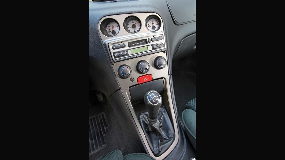 Alfa Romeo 156 1.8 TS, Mittelkonsole