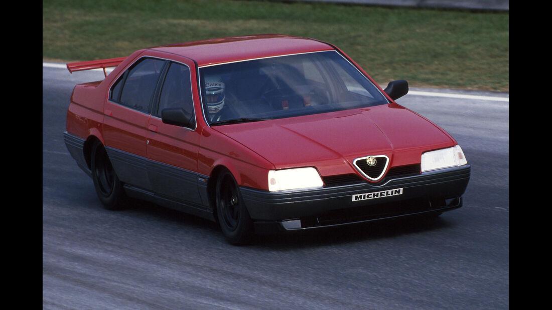 Alfa Romeo 164 Procar - Italien 1988 - Testfahrt