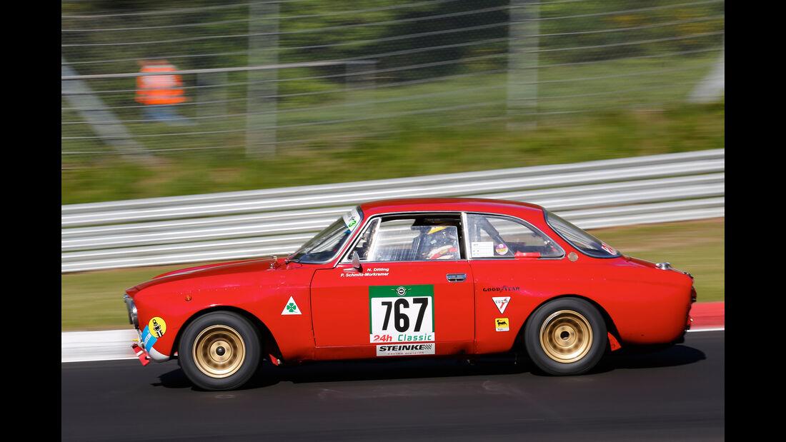 Alfa Romeo 1750 GTV - 24h Classic 2017 - Nürburgring - Nordschleife