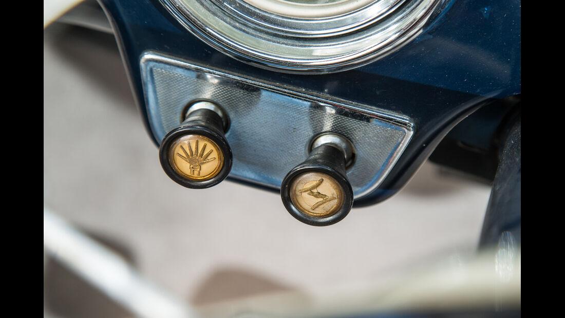 Alfa Romeo 1900, Bedienelemente