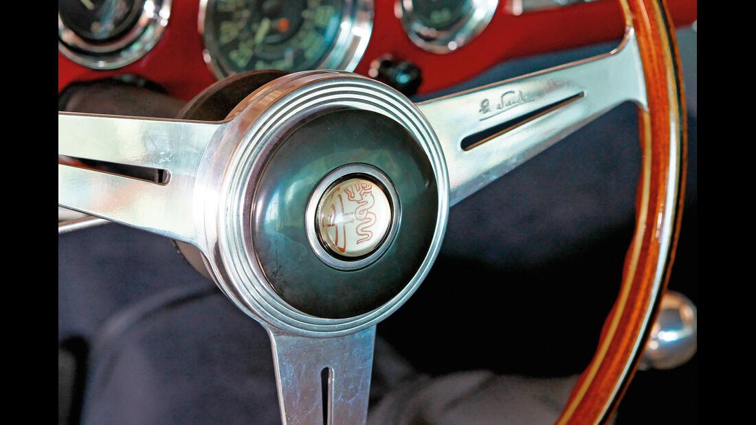 Alfa Romeo 1900 Sprint Coupé Pinin Farina, Lenkrad