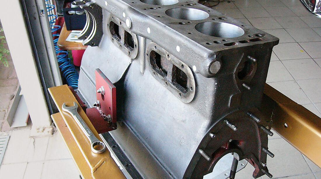 Alfa Romeo 1900 Sprint Coupé Pinin Farina, Motor, Getriebe