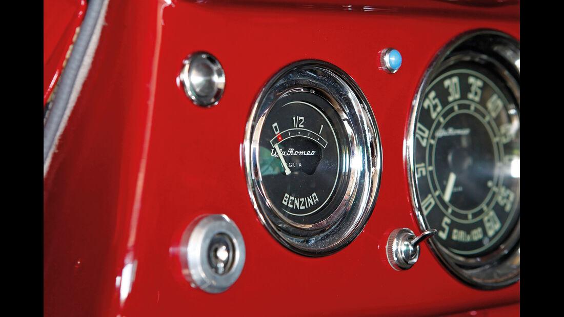 Alfa Romeo 1900 Sprint Coupé Pinin Farina, Rundinstrumente