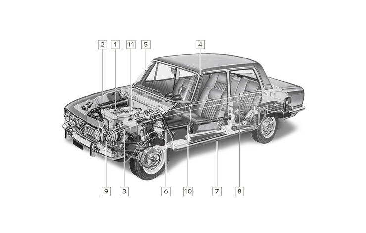 Alfa Romeo 2000 Berlina, Schwachstellen