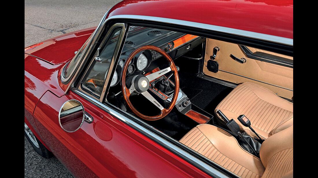 Alfa Romeo 2000 GTV, Innenraum