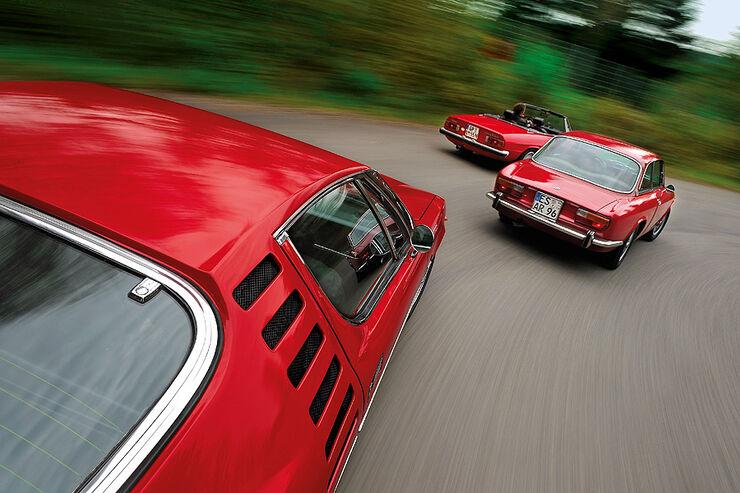 Alfa Romeo 2000 GTV, Spider 2000 und Montreal