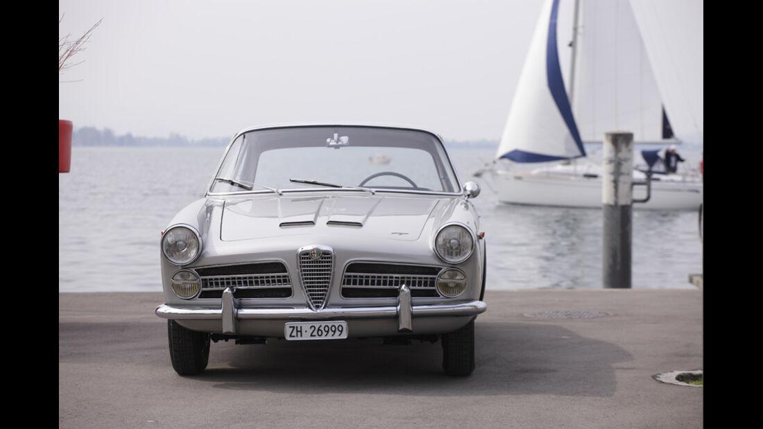 Alfa Romeo 2000 S Vignale-Coupé (1958), Vorderansicht