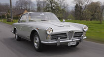 Alfa Romeo 2000 S Vignale-Coupé (1958), Vorderseite seitlich links