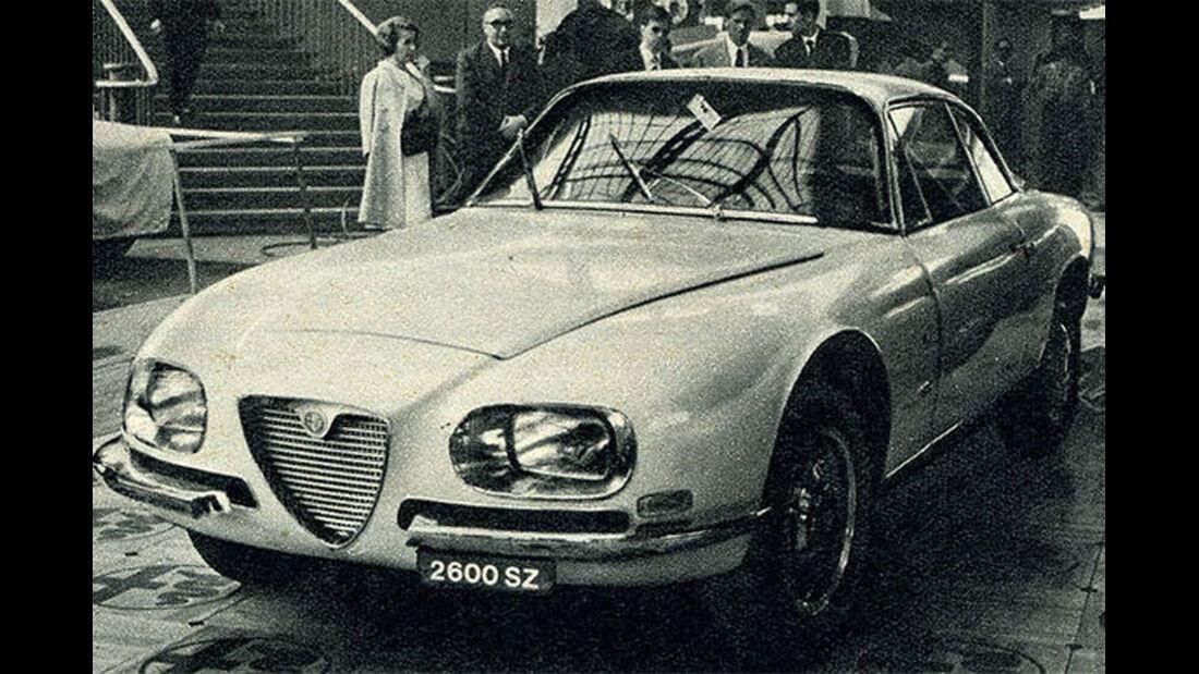 Alfa-Romeo, 2600 SZ, IAA 1965