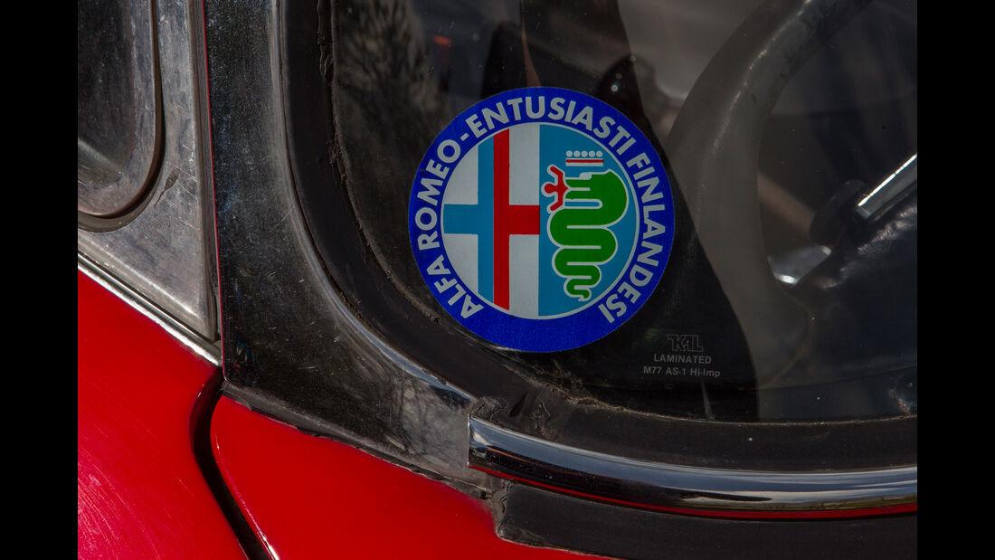 Alfa Romeo 2600 Spider, Aufkleber