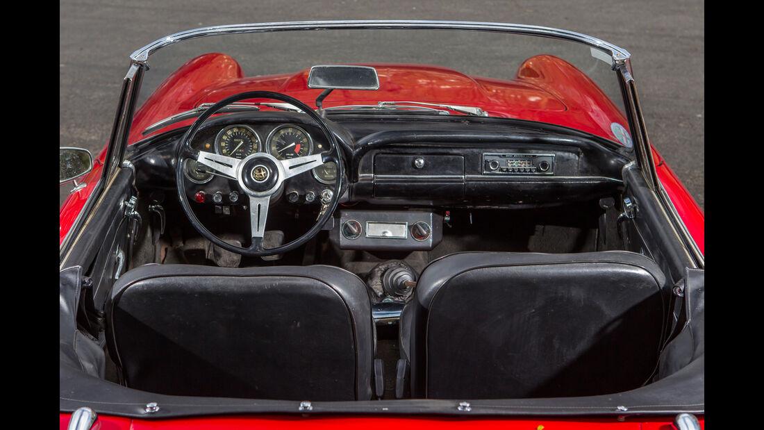 Alfa Romeo 2600 Spider, Cockpit, Interieur
