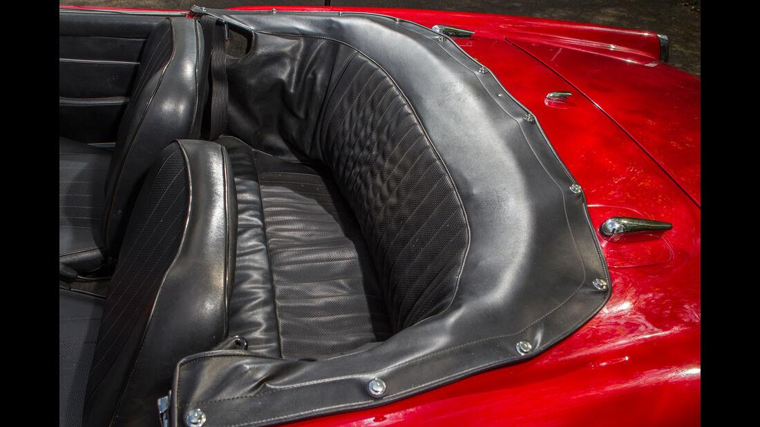 Alfa Romeo 2600 Spider, Fondsitze
