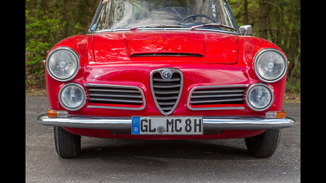 Alfa Romeo 2600 Spider, Frontansicht