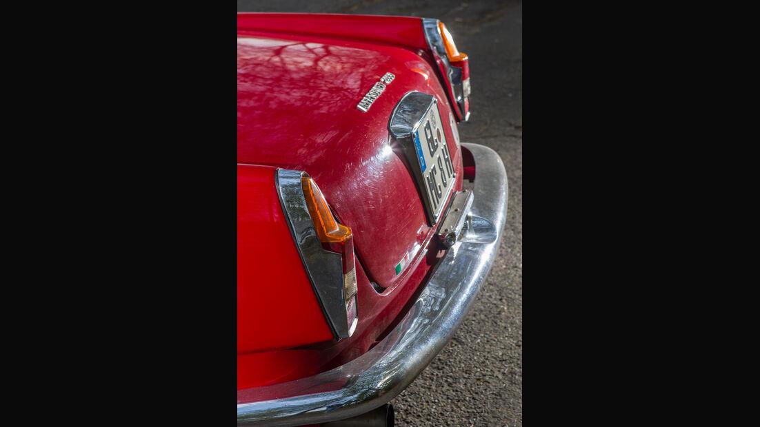 Alfa Romeo 2600 Spider, Heckleuchte