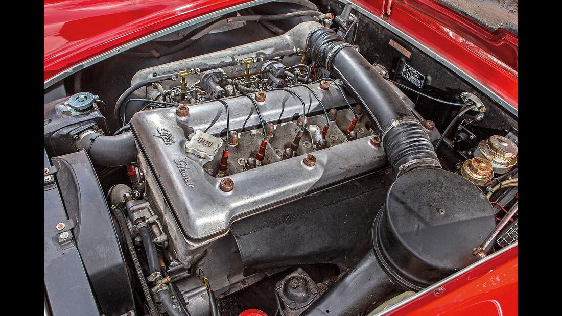 Alfa Romeo 2600 Spider, Motor