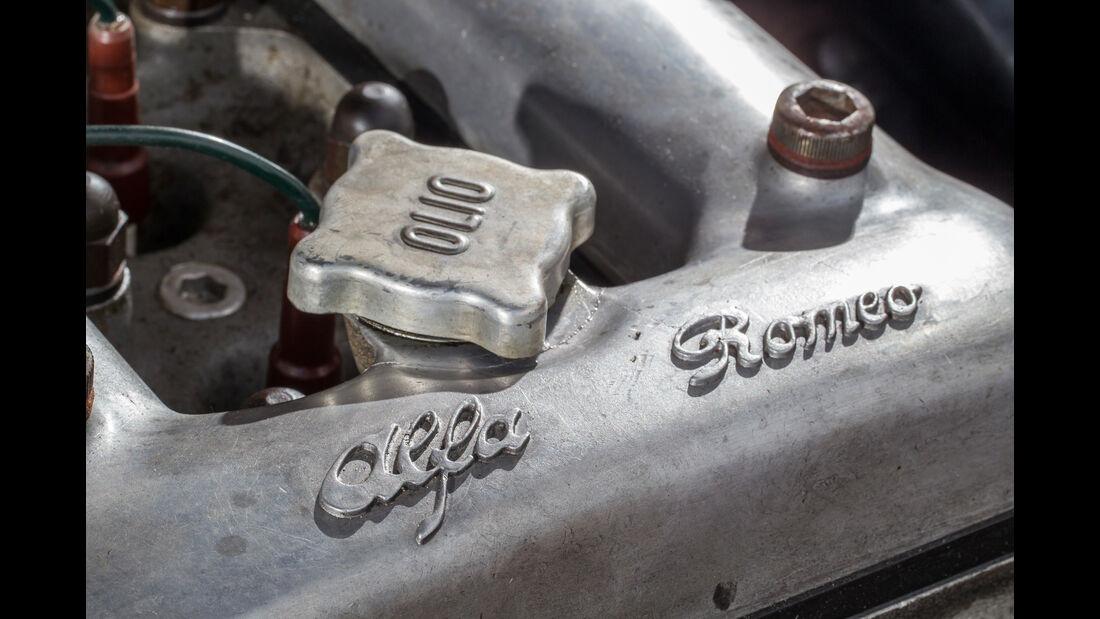 Alfa Romeo 2600 Spider, Motor, Detail
