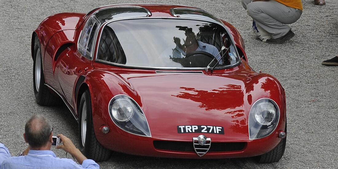 Alfa Romeo, 33 Stradale, Berlinetta, Scaglione, 1968, Clive Joy, UK