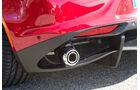 Alfa Romeo 4C, Auspuff