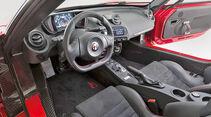 Alfa Romeo 4C, Cockpit, Lenkrad