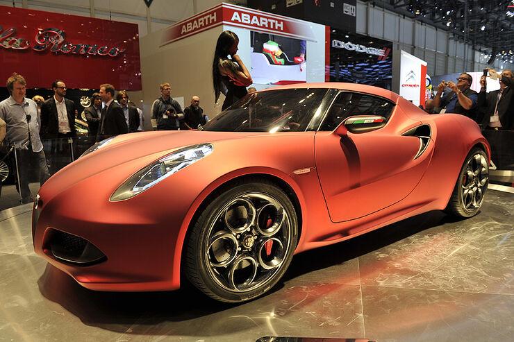 Alfa Romeo 4C Concept Genf 2011