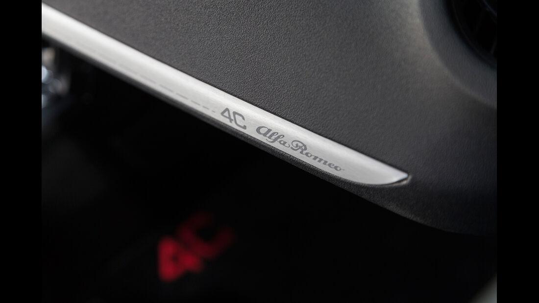 Alfa Romeo 4C, Detail