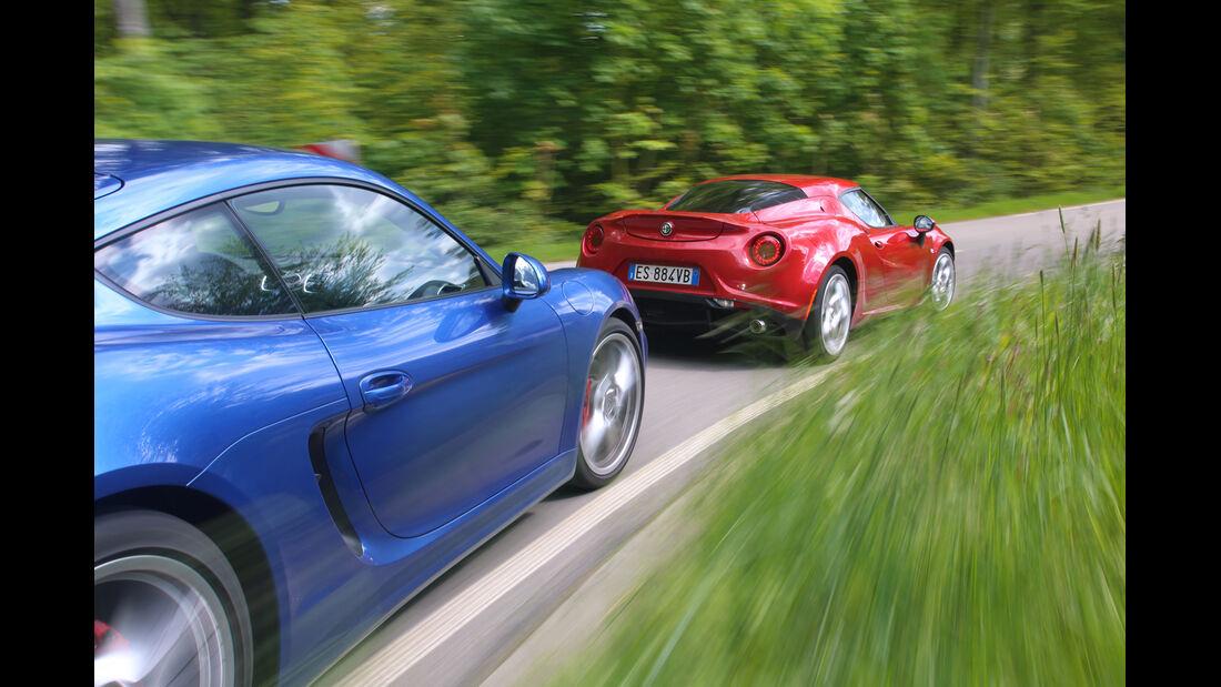 Alfa Romeo 4C, Fahrersic hat, Fahrimpression